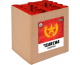 Lesli - Tsarina, Kombination aus Batterie und gefächerter Feuertopf